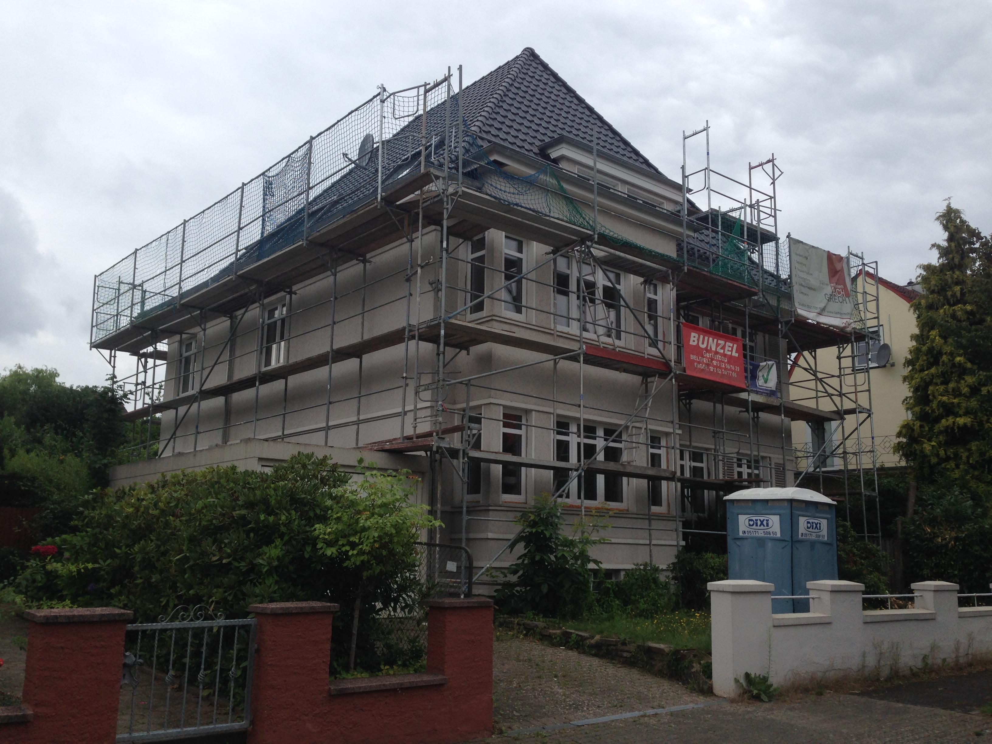 Haus 1 vorher